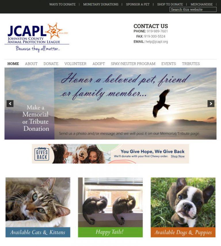 screenshot from jcapl.org